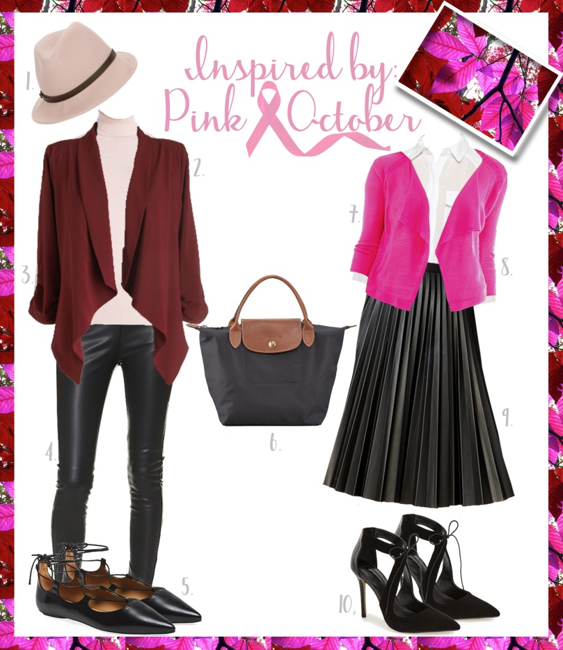 pink october outfit